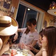 女子会を楽しむなら、がブリチキン。高円寺店へ!