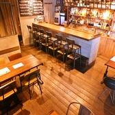 2階のテーブル席♪12名様から最大立食30名様までの宴会におすすめ♪