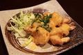 料理メニュー写真ジン風味の海老マヨネーズ