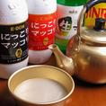 韓国発祥の飲みやすく人気のお酒「マッコリ」。少し甘みがあって、さっぱりとした白いお酒です。