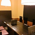 個室貸切は7~10名様まで可能です★個室席は人気の為、早めのご予約が◎