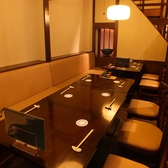 2名様~10名様まで半個室テーブル席あります。歓送迎会/同窓会/記念日/忘年会など様々な宴会/要望にお応えレイアウトは変更可能でございます。四季旬菜ふくふくに気軽にご相談ください。(週末など混み合っている場合、2名様でご予約された時にカウンター席をお願いする場合がございます。ご了承ください。)