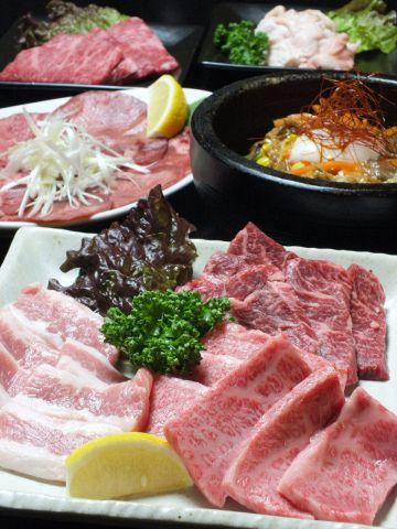 【大人気冷麺付◎プレミアムコース】120分飲放付コース4500円⇒クーポンで4000円