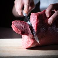 お肉は毎日店舗で手切り