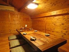 2階の古民家雰囲気の完全個室もご用意。プライベートの空間を、大切なお時間を最高の空間でお楽しみ下さい♪