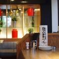 """女子会やデートにもってこいのオシャレ空間""""がブリチキン。新潟駅前すぐ!""""清潔感ある広々としたスペースです♪"""