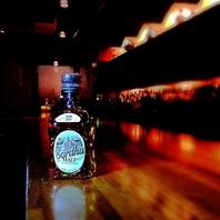 豊富なウイスキーの品揃え