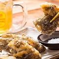 料理メニュー写真もずくのカキアゲ天ぷら