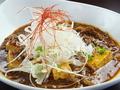 料理メニュー写真粗挽き牛カルビのバカ辛麻婆豆腐(中辛、大辛、バカ辛から選べます)