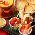 料理メニュー写真蟹味噌のチーズフォンデュ