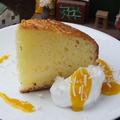 料理メニュー写真ココナッツのケーキ
