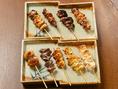 【丁寧な職人技!】綾部の上林鶏や兵庫丹波地鶏を使った焼鳥!!一本一本を大切に丁寧に焼き上げています