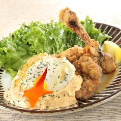 料理メニュー写真若鶏の骨付きチキン南蛮