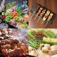 魚、肉、鍋、多彩な逸品料理でおもてなし!