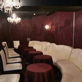 カーテンで区切られた個室席貸切/パーティー/イベントOK