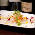 料理メニュー写真旬魚のカルパッチョ