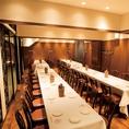【個室ABC】50名様までの完全個室恵比寿で誇る大型個室完備!個室のご利用は8名様~最大50名様まで。
