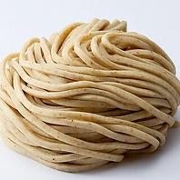 全粒粉の低加水麺