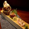料理メニュー写真地魚3種盛り