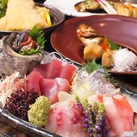 お刺身、コース料理に特にチカラを入れています!