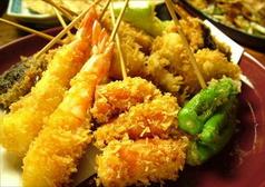 料理メニュー写真天ぷら盛り合わせ