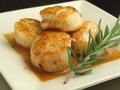 料理メニュー写真ホタテ貝柱焼き