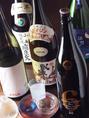 日本酒も多数揃えております。