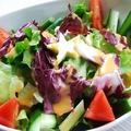 料理メニュー写真ループサラダ