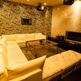 広々としたソファーが自慢の個室「ザ・ダイヤモンド」女子会、合コン、など様々なパーティーシーンでご利用頂けます♪