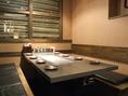 テーブル、個室など、用途に応じたお席が多数ございます。