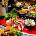 料理メニュー写真贅沢逸品10品プレミアム3時間飲み放題付き7500円⇒5999円