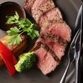 料理メニュー写真≪牛肉≫ホルモンフリー ブラックアンガス牛リブロース ヒマラヤステーキ ヒマラヤ450g