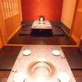 8名程のご宴会はこちらで。上質な空間で焼肉宴会をどうぞ。