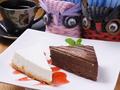 料理メニュー写真ケーキドリンクセット