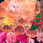 事前ご予約で、結婚式2次会や、各種パーティーにぴったりなシャンパンタワーをご用意致します。写真映えもするので、パーティーが盛り上がること間違いなし!シャンパンタワーをご希望の方は、事前にお問合せ下さい。