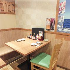 2名様~ご相談に応じます♪テーブル席からゆったりとくつろげる半個室も多数ご用意☆デートにも◎さかなや道場 浦和西口店