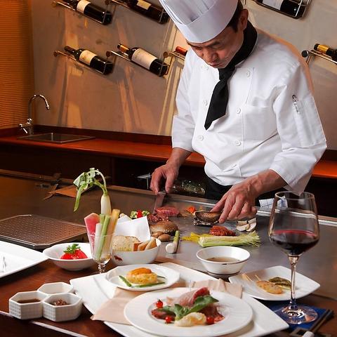 前菜からデザートまで全て自家製!!美味しさと驚きをご堪能下さい。