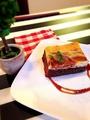 料理メニュー写真クリームチーズのブラウニー