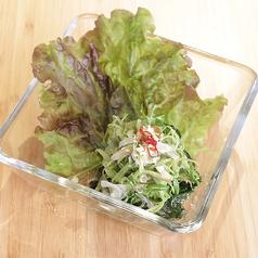 料理メニュー写真空芯菜のサラダ