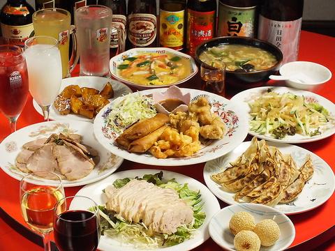 中国料理朱鷺