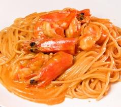 エビみそのスパゲティー