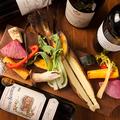 料理メニュー写真農家の野菜の石窯焼き盛合せ