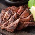 料理メニュー写真国産牛のタンステーキ