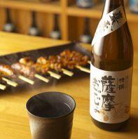 本格焼酎・日本酒も揃う