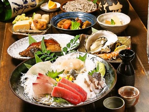 創業30年!魚と日本酒に自信あり!蕨の海鮮なら海鮮創作たち花!