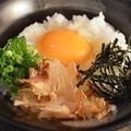料理メニュー写真TKG(玉子かけご飯) 各種
