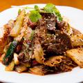 料理メニュー写真牛肉とハチノスの冷菜