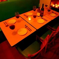 【ソファー席完備】4~6名様まで♪プライベート・小宴会におすすめのお席★ 宴会コースも予算やシーンに合わせてお選び頂きます。スタッフ一同、お客様のご来店心よりお待ちしております。ご予約、ご相談などお気軽にお電話下さい→ 050-5366-5851