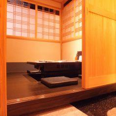 京の趣漂う店内。広めでゆったりとお寛ぎ下さい♪
