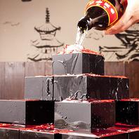 圭助名物日本酒タワーで宴会を盛り上げよう☆